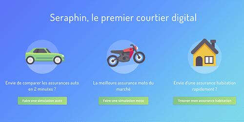 Seraphin - Digital Insurance Broker - Application web