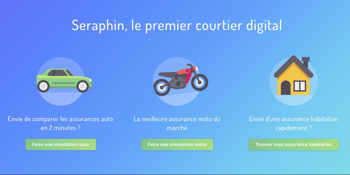 Seraphin - Digital Insurance Broker