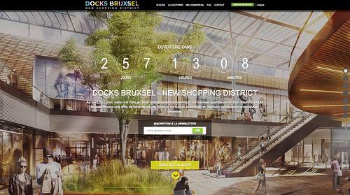 Docks Bruxsel - Création de site internet