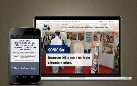 Création site web Agence Evenementiel