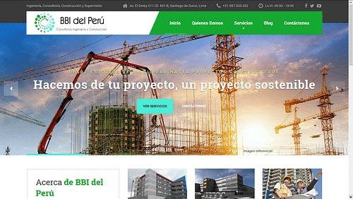 Diseño de página web para empresa de Ingeniería - Creación de Sitios Web