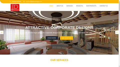 Website for L-Space Design