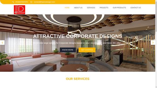 Website for L-Space Design - Website Creation
