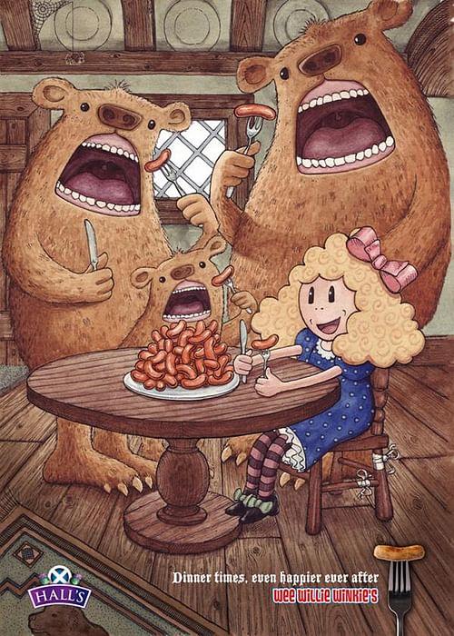 Goldilocks - Advertising