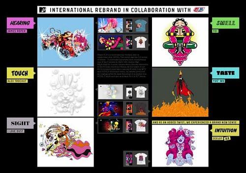 MTV INTERNATIONAL REBRAND - Advertising