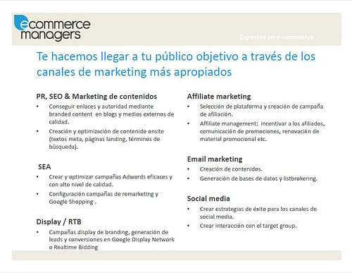 Campañas SEM en varios países - Publicidad Online