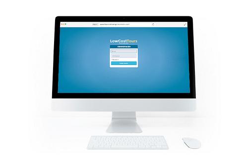 Web de Reserva de Tours hecha a medida - Aplicación Web