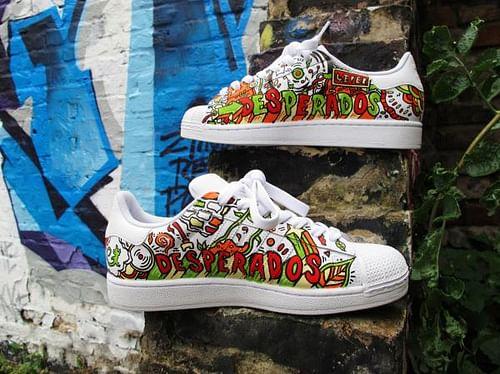 Graffiti Sneakers - Advertising
