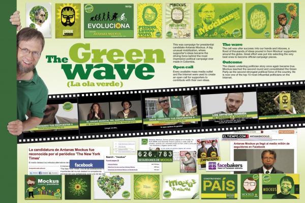 THE GREEN WAVE - Publicidad