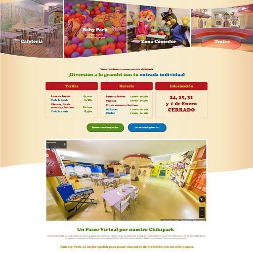 Fantasy Park - Creación de Sitios Web