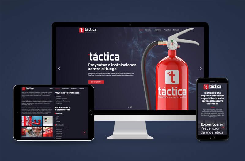 Táctica - Creación de Sitios Web