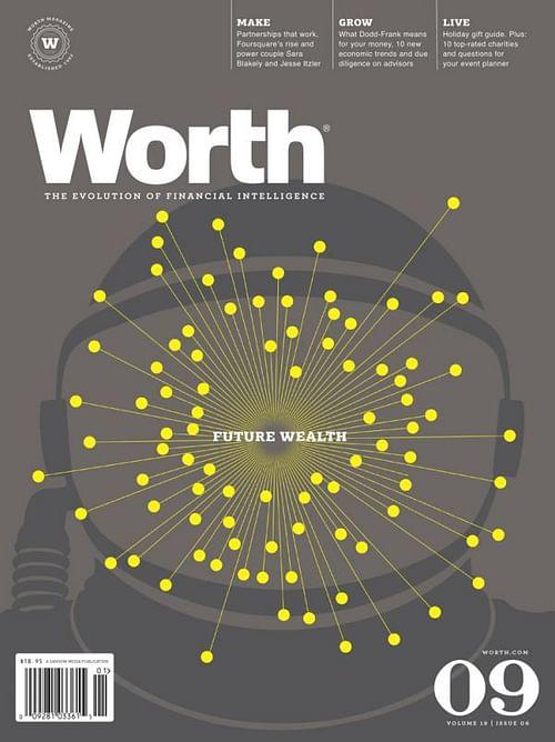 WORTH MAGAZINE COVER SERIES, 2 - Graphic Design