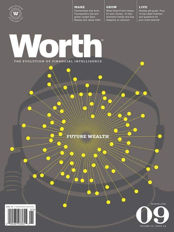 WORTH MAGAZINE COVER SERIES, 2
