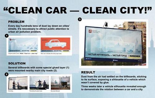 CLEAN CAR - CLEAN CITY - Reclame