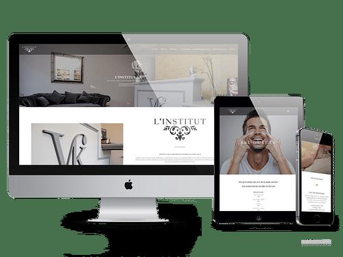 Création Site Web Institut VK - Création de site internet