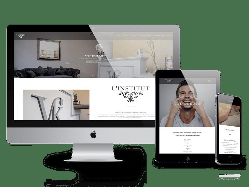 Création Site Web Institut VK