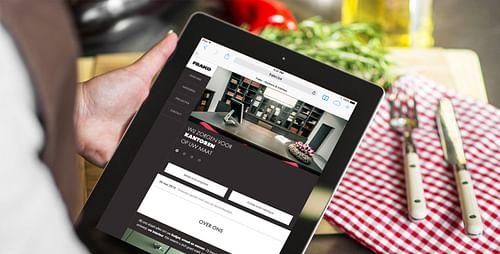 FRAKO  / A tailor-made immersive experience - Website Creatie