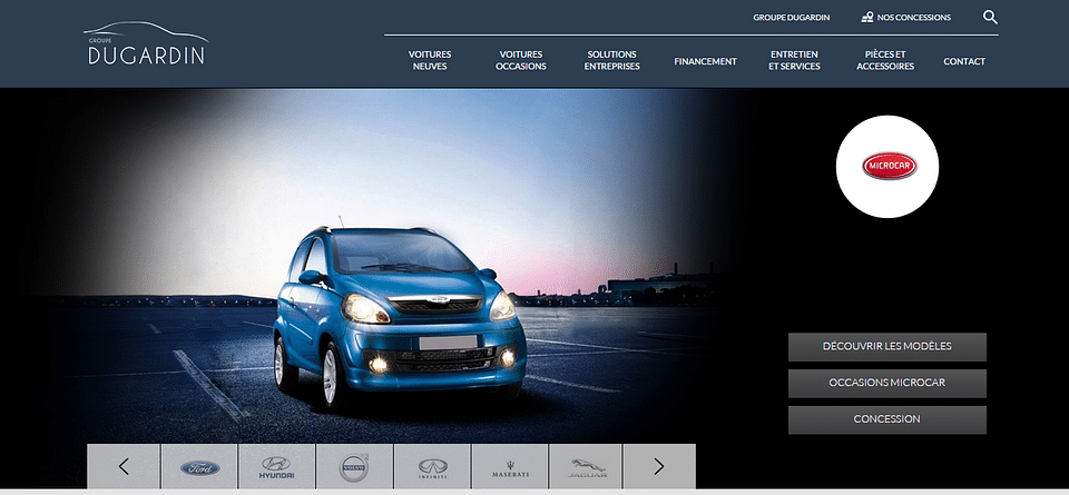 Dugardin - Groupe de concessions automobile