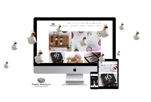 Pierre Marcolini - Création de site internet