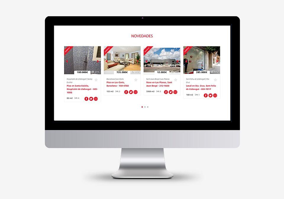 Desarrollo web para Expofinques