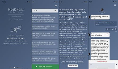 NosDroits - Application web
