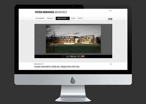 ontwerp en ontwikkeling site architect - Ontwerp