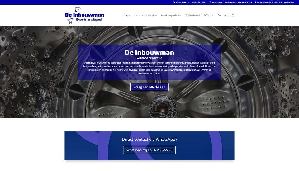 Realisatie website