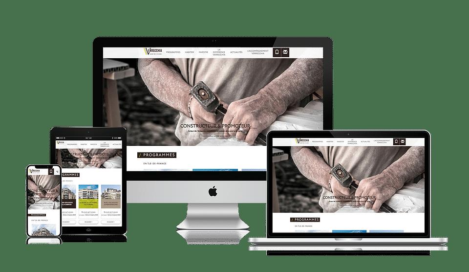 Création de l'application web Verrecchia