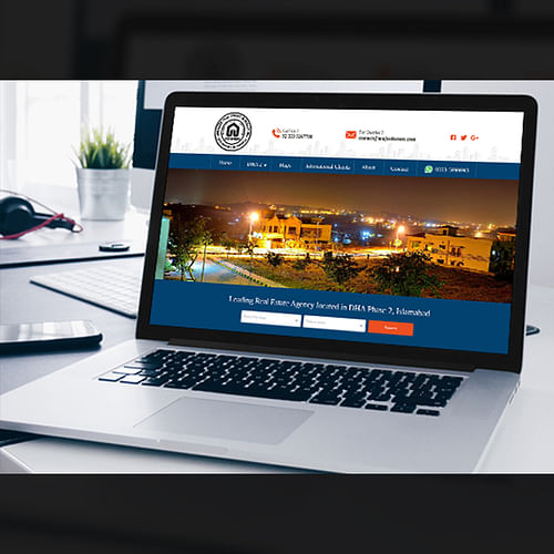 Web design & Development for a Real Estate firm - Website Creation