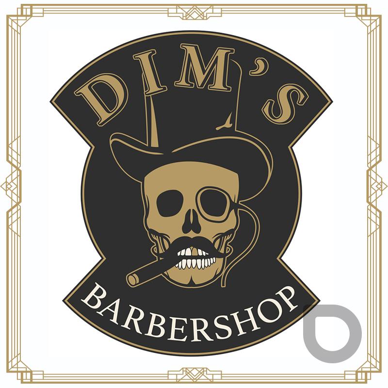 Dim's BarberShop Waterloo - Design & graphisme