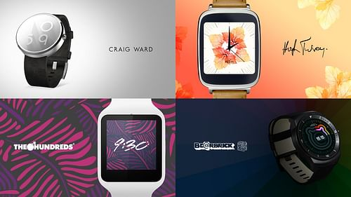 Android Wear Watch Face Collections - Digital Strategy