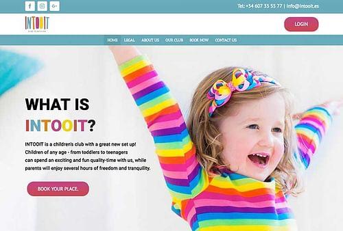 Intooit Kids club Marbella - Redes Sociales