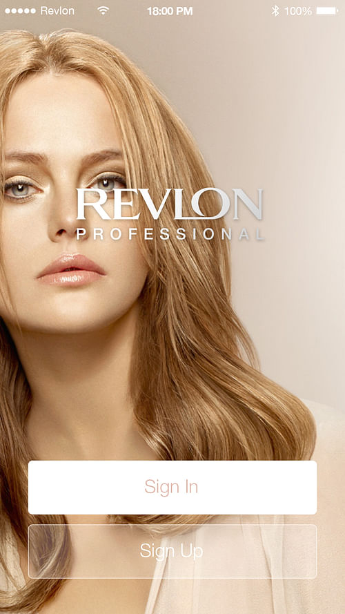 App Revlon - Diseño Gráfico