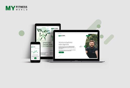 My Fitness World Platform - Website Creation