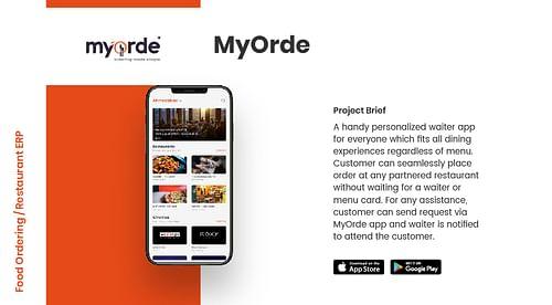 MyOrde - Mobile App