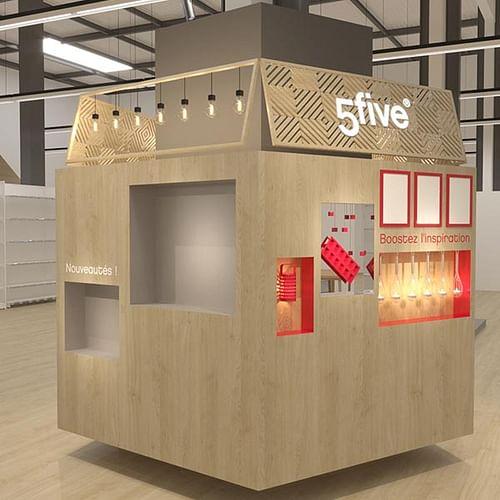 Création et implantation d'un showroom - B TO B - Image de marque & branding