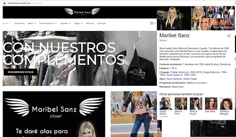 Tienda Online de Maribel Sanz