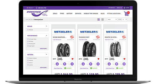 ZDegree - E-commerce