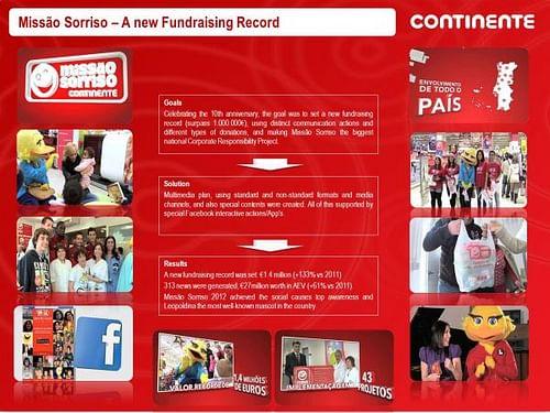 MISSÃO SORRISO 2012 - Publicidad
