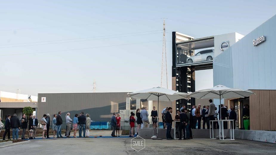 Volvo Rutten - New building inauguration