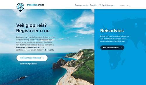 Website & Rebranding for Travellers Online - Website Creatie