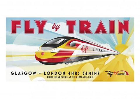 FLY BY TRAIN