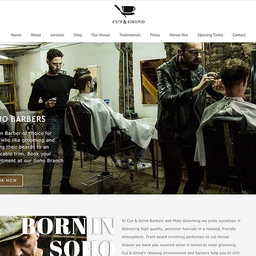 Cut & Grind Barbers - SEO