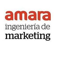 Amara, ingeniería de marketing logo