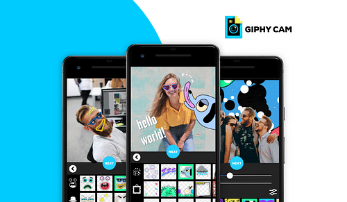 GIPHY CAM - Mobile App