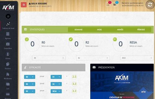 Application iPAD Gestionnaire de Patrimoine - Application mobile