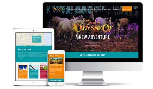 Développement du site web pour Cavalia / Odysséo - Website Creation