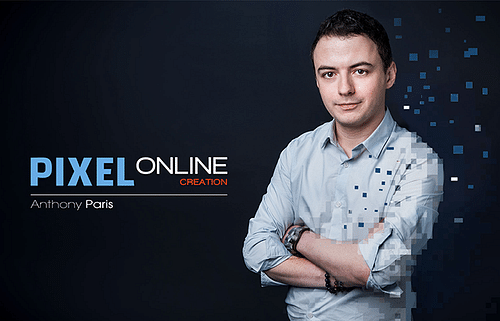 Pixel online création cover