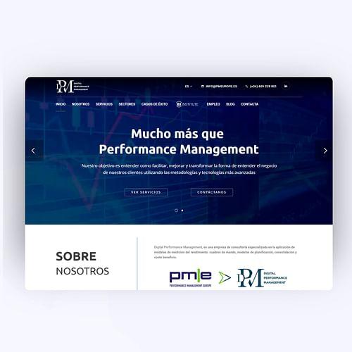 Digital Performance Management - Creación de Sitios Web