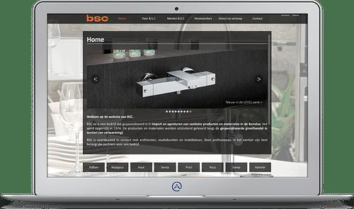 Belgian Sanitary Company - Website Creatie